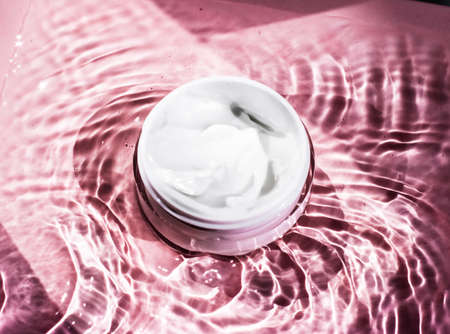 Moisturizing beauty cream, skincare and spa cosmetics - Anti-age product, luxury body care and organic science concept