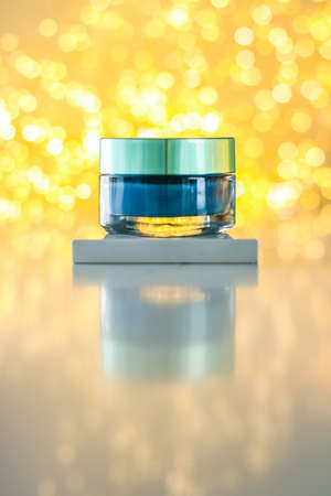 Facial treatment, anti aging skincare and spa concept - Beauty face cream mask, luxury moisturizing cosmetic product 写真素材