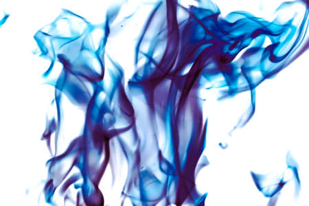 Technology, science and artistic flow concept - Abstract wave background, blue element for design