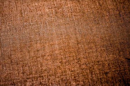 Textile material, natural surface and vintage decor texture concept - Decorative vintage linen fabric textured background for interior, furniture design and art canvas backdrop