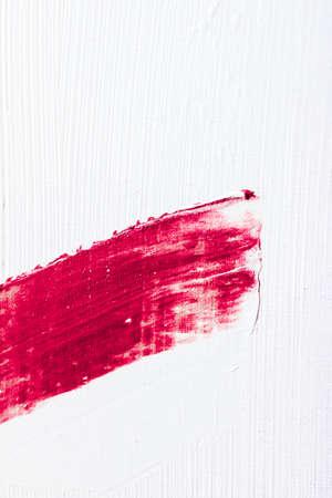 Arte, branding e concetto vintage - Sfondo artistico astratto con texture, pennellata di vernice acrilica rosa, schizzi di olio di inchiostro strutturato come sfondo di stampa per marchio di vacanze di lusso, design di banner flatlay