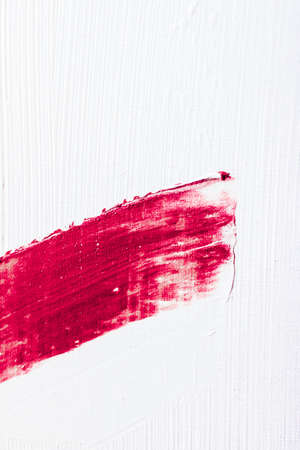 Kunst-, Branding- und Vintage-Konzept - Künstlerischer abstrakter Texturhintergrund, rosa Acrylpinselstrich, strukturierter Tintenölspritzer als Druckhintergrund für Luxusurlaubsmarke, Flatlay-Bannerdesign