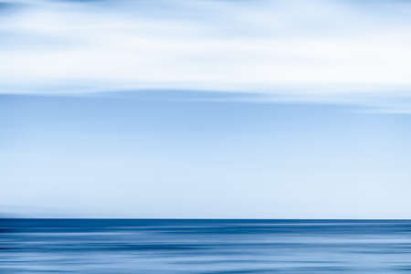 Coastal art, holiday destination and luxury travel concept - Abstract ocean wall decor background, long exposure view of dreamy mediterranean sea coast