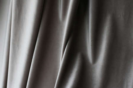 Decoration, branding and surface concept - Abstract grey fabric background, velvet textile material for blinds and curtains, fashion texture and home decor backdrop for luxury interior design brand