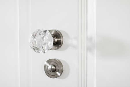Luxury door handle, elegant home decor and interior design close-up