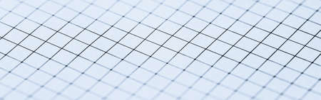 Blue grid paper texture, back to school backgrounds