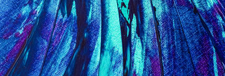 Mix of blue, turquoise and purple abstract background, painting and arts 免版税图像
