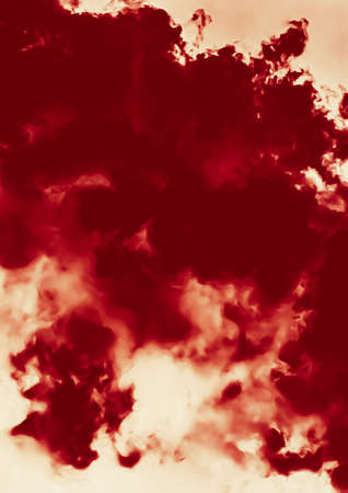 Hot fire flames or red clouds for minimalistic background design