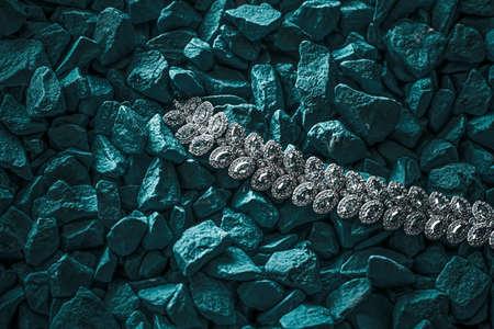 Luxury diamond bracelet, jewelry and fashion brands