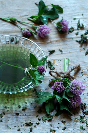 Clovers natural homeopathic medicine herbs photo