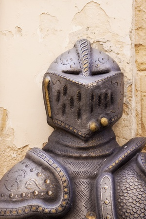 Closeup of antique armor in Malta Stock Photo - 17276477