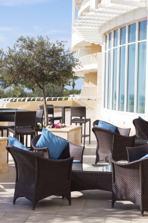 Outdoor lounge 5 star hotel Stock Photo - 17269531