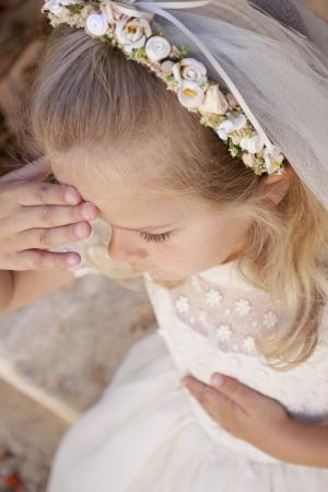 Im Namen des Vaters, des Sohnes und des Heiligen Geistes, Amen Standard-Bild - 20866949