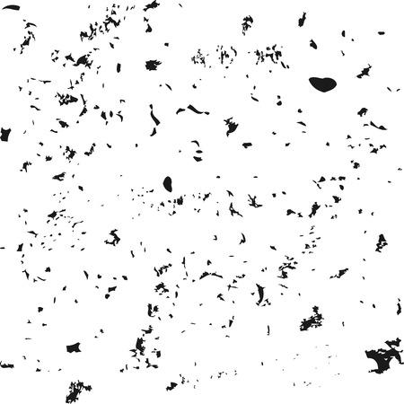 Grunge texture torn particles. Square background. Abstract. Ilustração Vetorial