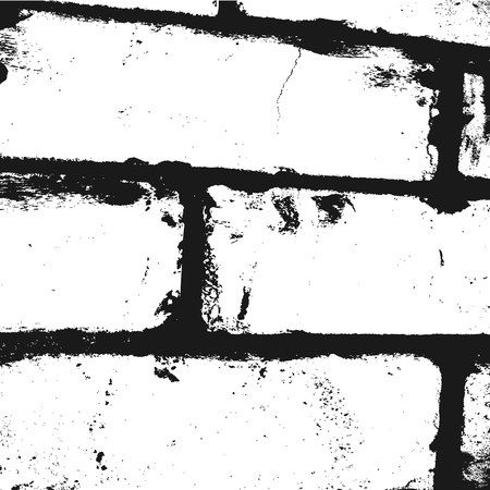 mote: Background imitation brick wall fragment. Square grunge texture. The black.