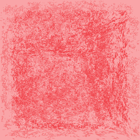 rough: Pink rough background. Grunge texture. Square.