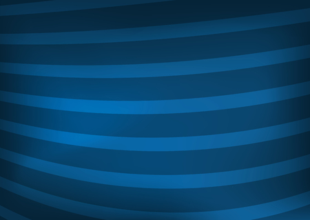 Blue rectangular striped background with blur. Vector illustration.