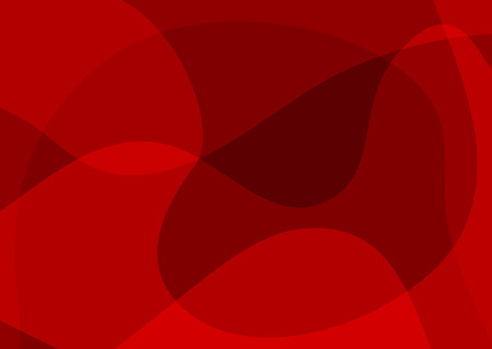 Rectangular abstract red background. Horizontal template for design. Vector illustration. Иллюстрация