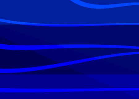 Rectangular abstract blue background. Horizontal template. Vector illustration.