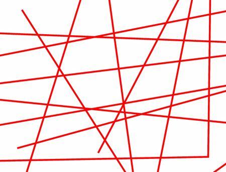 Rectangular background with random lines. Horizontal vector illustration.