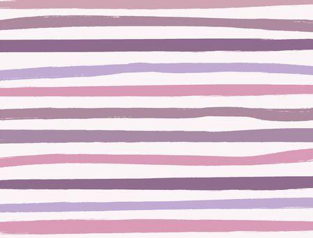 Achtergrond met horizontale strepen getekend met een borstel. Verf, schets, aquarel. Rechthoekige vectorillustratie. Vector Illustratie