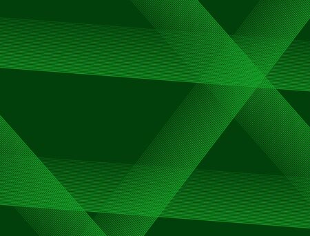 Abstract rectangular green background with random lines.
