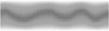 Halftone in abstract style. Geometric retro banner vector texture. Modern print. White and black background. Light effect 矢量图像