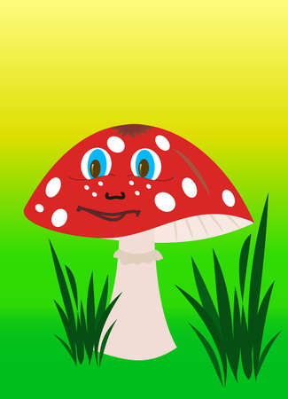 champignon magique: f�e champignon