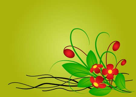 crocket:  floral