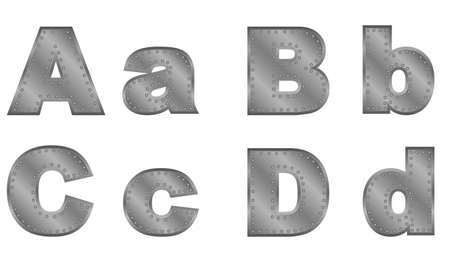 alphabet english Illustration
