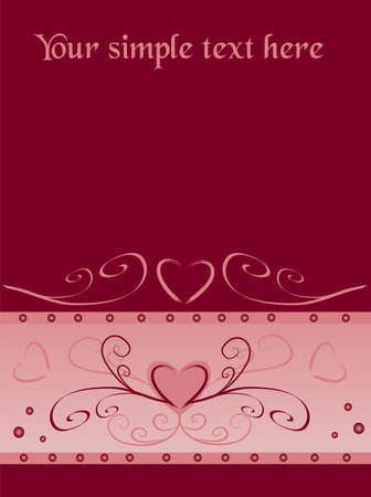 A valentines background with  with room for text Stock Photo - 4133717