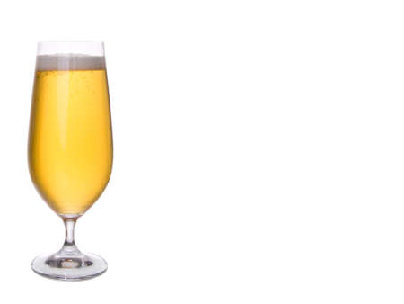 beerglass: glass of beer Stock Photo