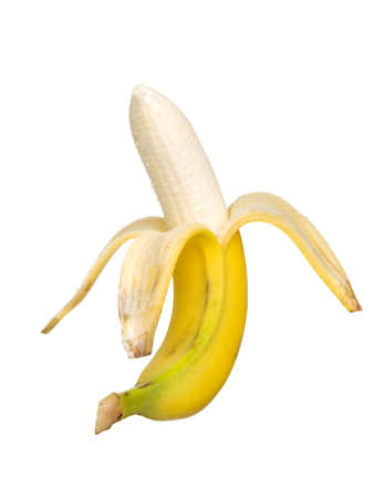 bannana: banana on a white background