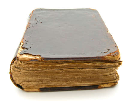 sermon: Old book