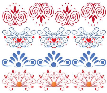 circularity: set of ornament