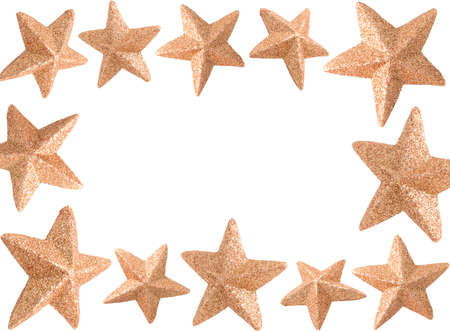 Christmas Star frame Stock Photo - 5810139