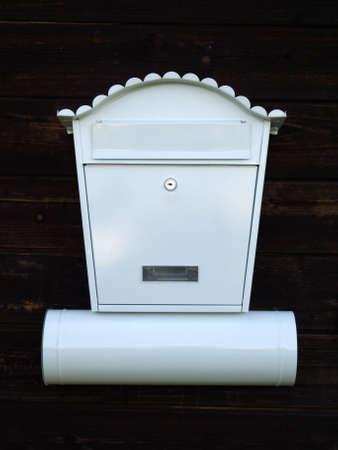 White mailbox Stock Photo - 7359698