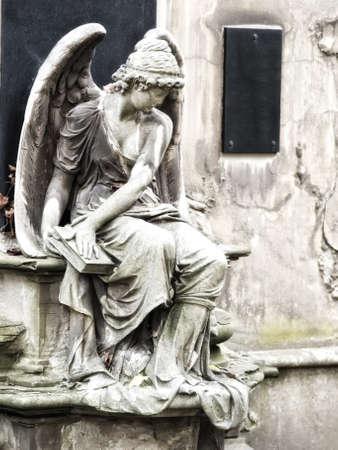 angel cemetery: angel statue