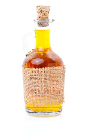 bottle of whiskey  scotch  wine on white  photo