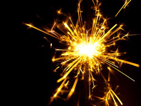 night stick: christmas sparkler