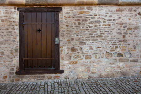 oldtown: Old medieval door