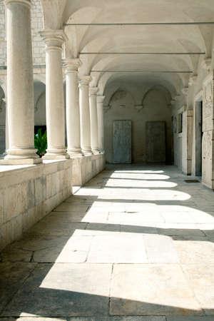 Courtyard of a Temple Croatia Stock Photo - 20724270