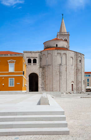 centralised: Church of Saint Donatus, romanesque  building from the 9th century in Zadar, Croatia  most impressive churches of centralised type of the Carolingian period in Europe