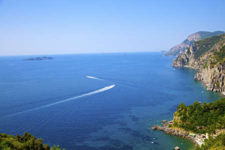 View of the Amalfi Coast, Italy  photo