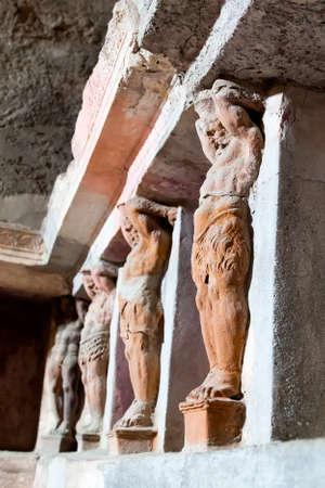 human figures: Pompeii Editorial