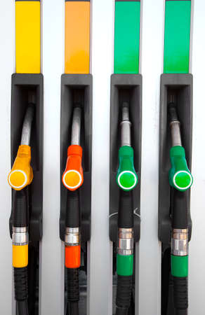 energize: Pump nozzles at the gas station