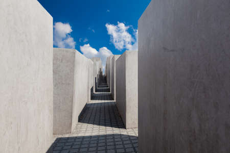 Jewish Holocaust Memorial museum, Berlin, Germany