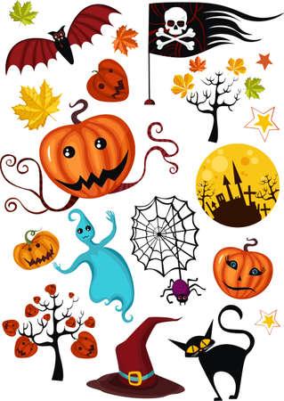 halloween set Stock Vector - 5704102