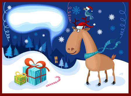 christmas night Stock Vector - 5704123