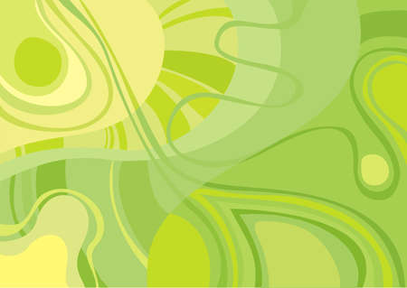 green and yellow: background green Illustration
